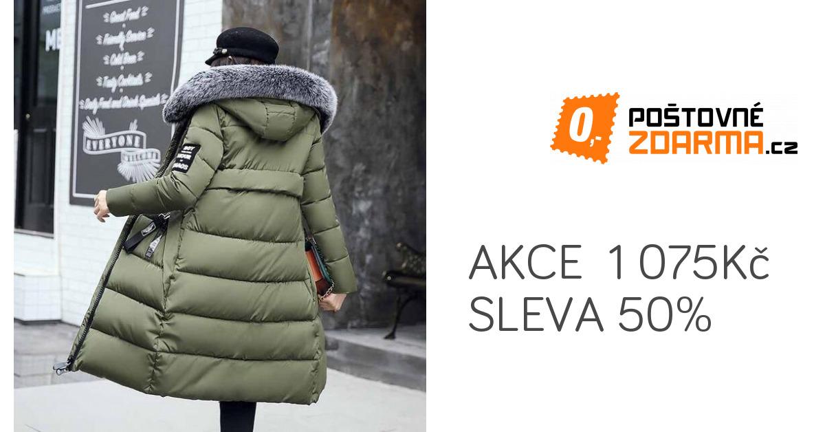 Dlouhá zimní bunda Agnes - 5 barev  9b53fa77fd