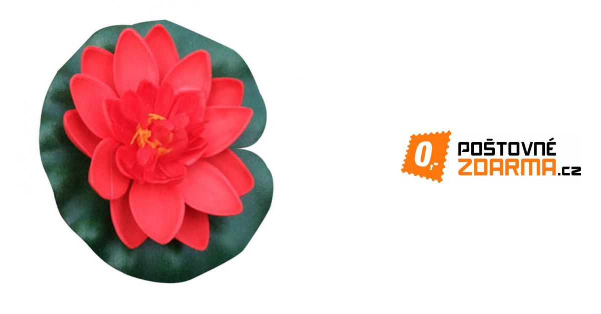 3b6a2ae5d65 Umělé lekníny - 8 barev