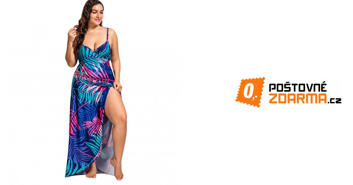 8688557a0da3 Zavinovací šaty - nadměrné velikosti