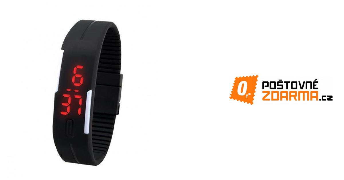 Sportovní LED silikonové hodinky - mnoho barev  f1eeae372fd