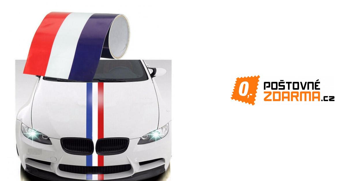 059f7a6b2ea Auto samolepka - francouzská vlajka - 1 1
