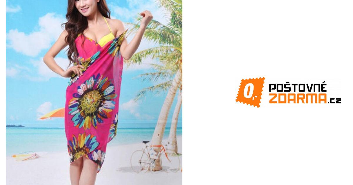 Letní šaty na pláž - na výběr ze 6 barev  32135ff397