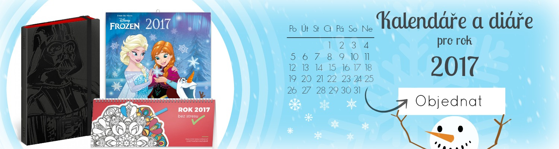 Kalendáře a diáře pro rok 2017