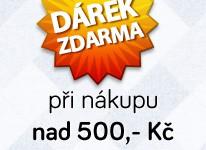 Dárek nad 500 Kč zdarma do odvolání