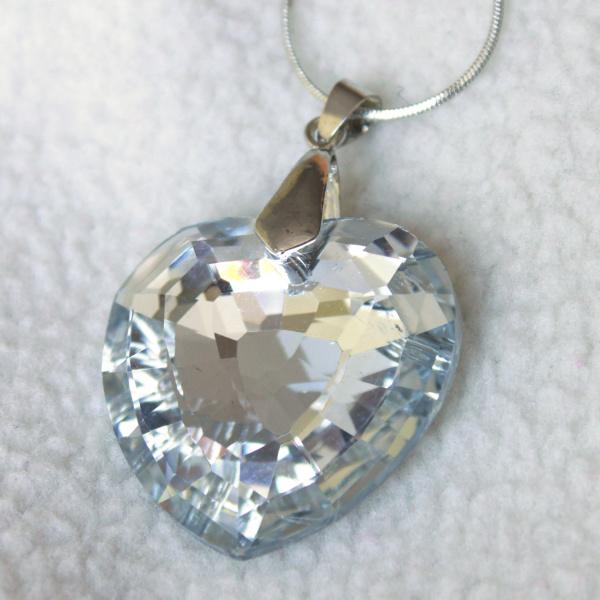 Krásný náhrdelník se srdcem