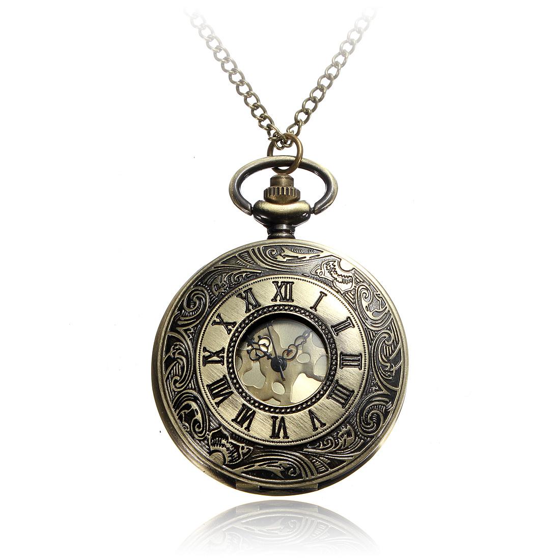 Vintage steampunkové hodinky v bronzové barvě