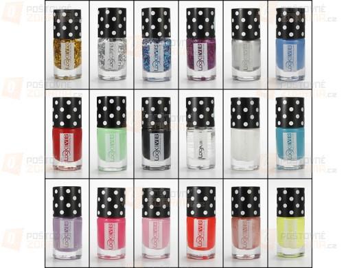 Lak na nehty 14 ml - 18 atraktivních barev