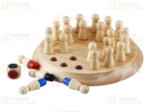Dřevěné šachy na procvičení paměti