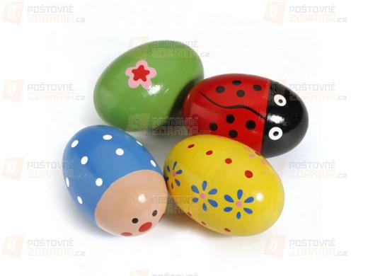 Dětské chrastící vajíčko