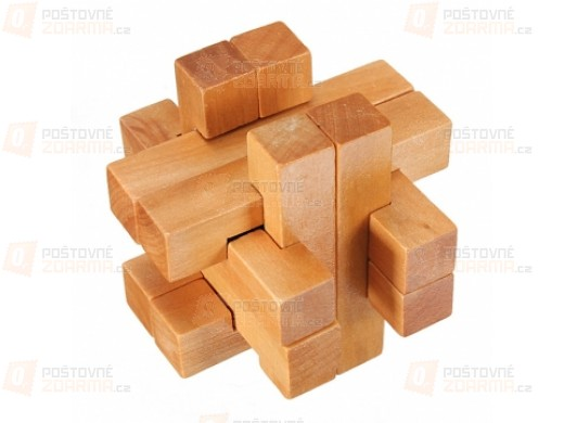 Vzdělávací hračka pro děti - dřevěné puzzle