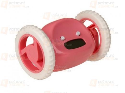 Pohyblivý budík - růžový