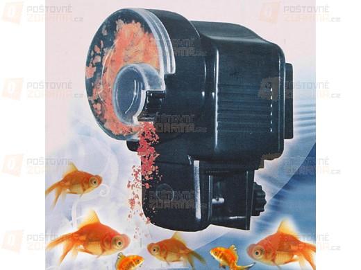 Automatické akvaristické krmítko pro ryby