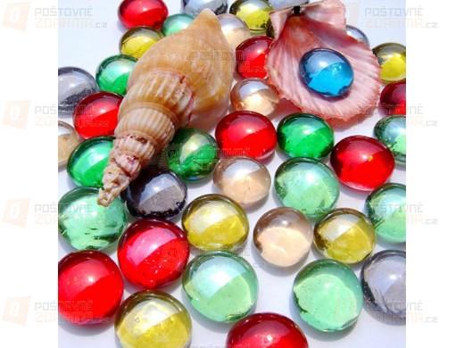 Dekorační kamínky do akvária - 10 ks