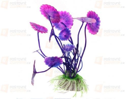 Dekorace do akvária - květina
