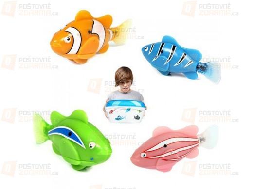 Robo-rybička - ve 4 barvách