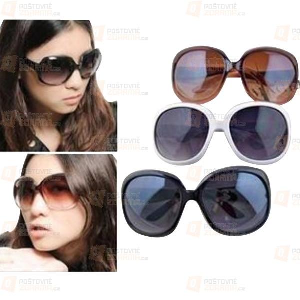 Moderní sluneční brýle v atraktivních barvách