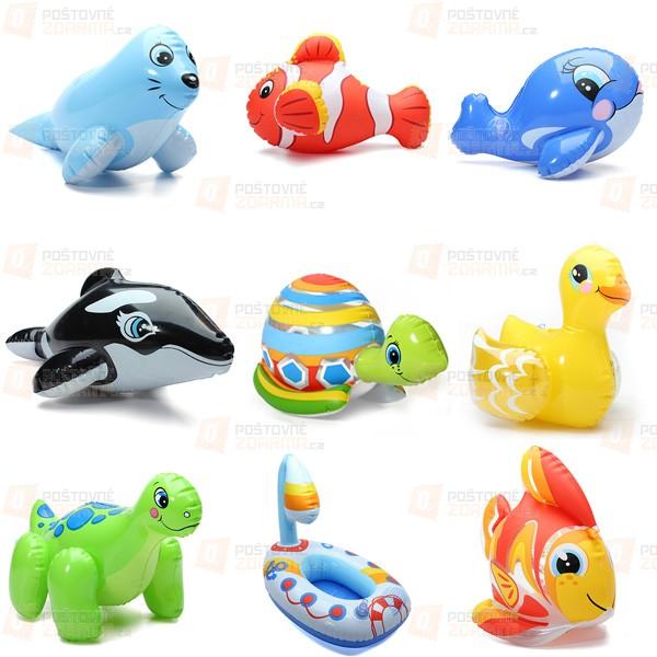 Nafukovací hračky do vody - 9 druhů