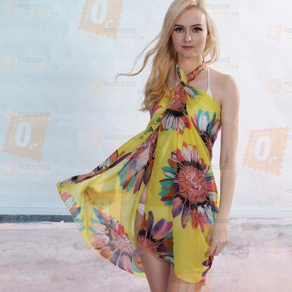 Letní sarong na pláž