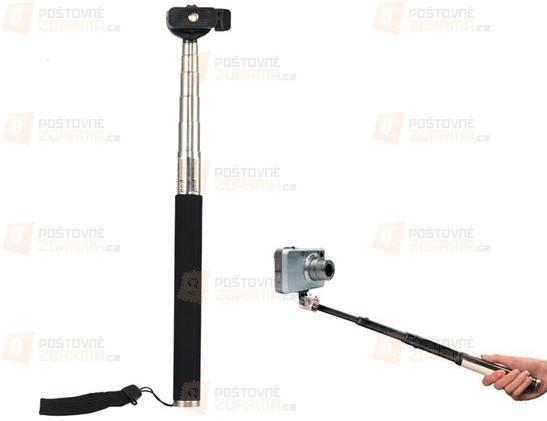 Teleskopická tyč pro fotografování z výšky (monopod)