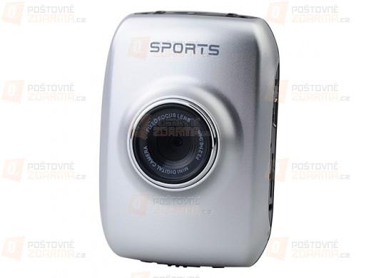 Sportovní kamera 5 Mpx 720p LCD display