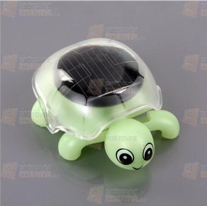 Solární želvička ve 2 barvách