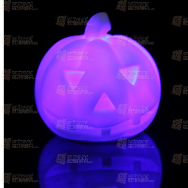 LED barevná dekorace na Halloween