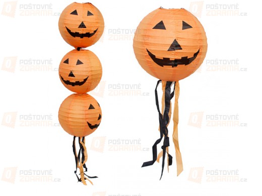 Halloweenský lampion