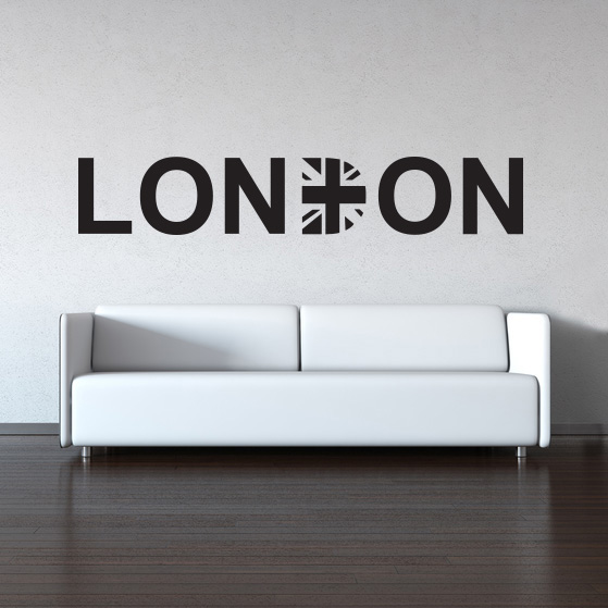 Samolepka London