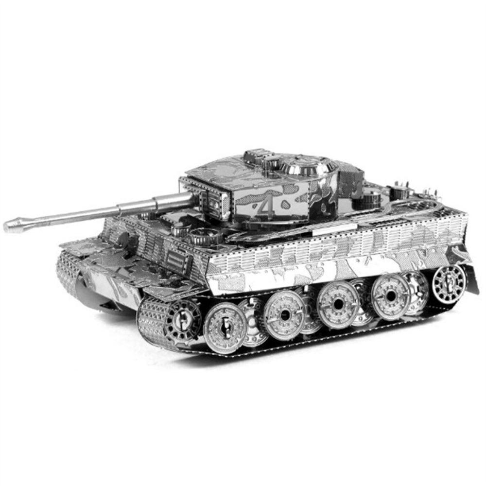 3D model puzzle tank Tiger