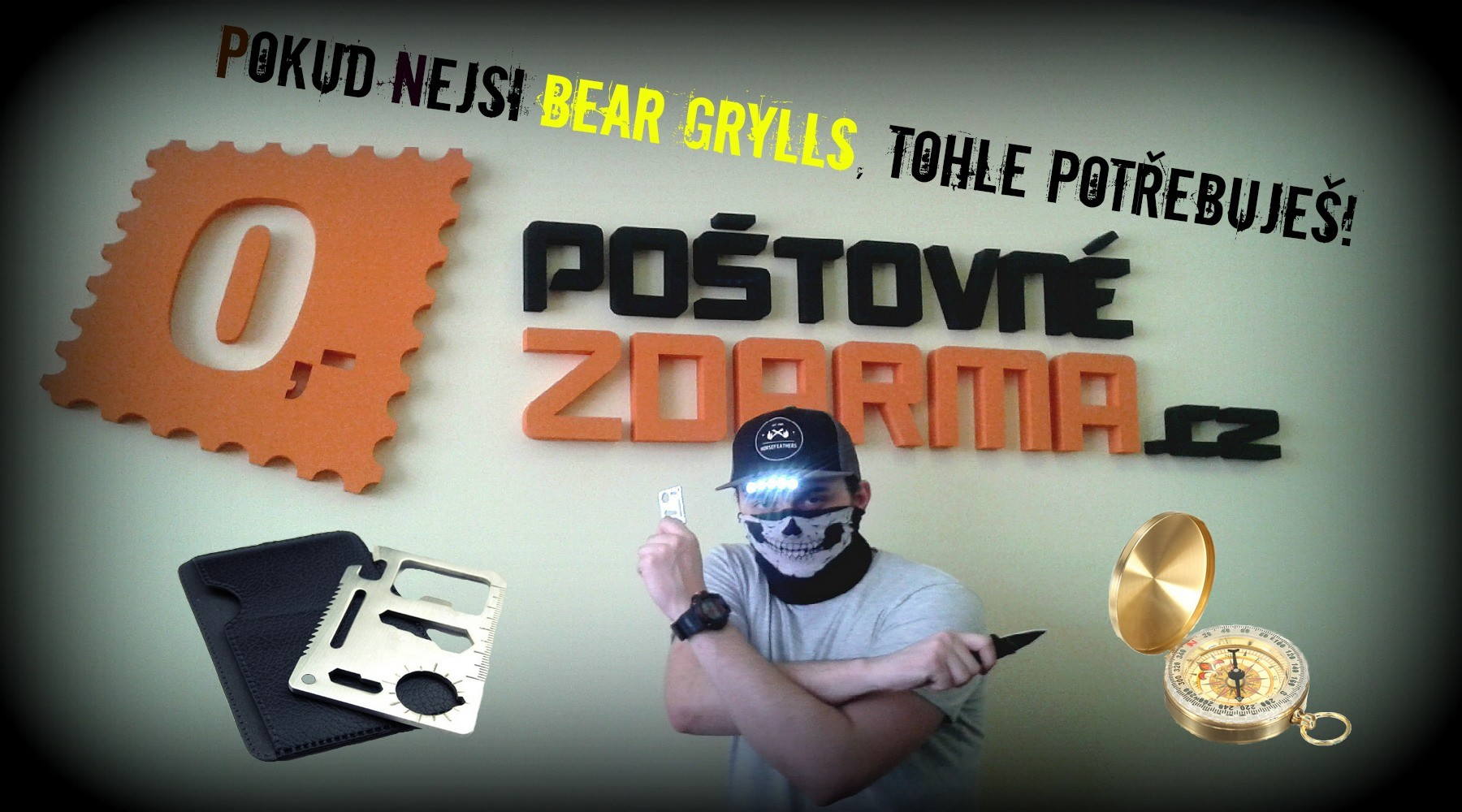 VLOG 3: Jestli nejsi Bear Grylls, tohle musíš vidět!