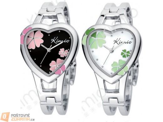 Dámské hodinky KIMIO ve tvaru srdce