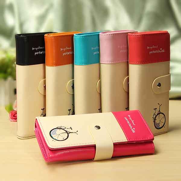 Dlouhá dámská peněženka - 6 barev