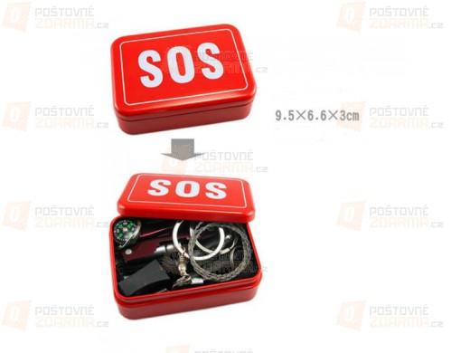 SOS multifunkční box pro přežití