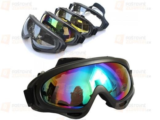 Univerzální sportovní brýle - 4 barvy skla
