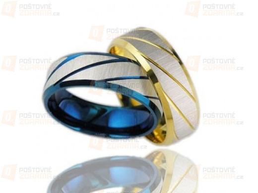 Pánský titanový prsten - 4 velikosti