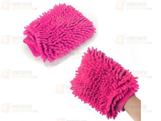 Mycí rukavice z mikrovlákna na auto