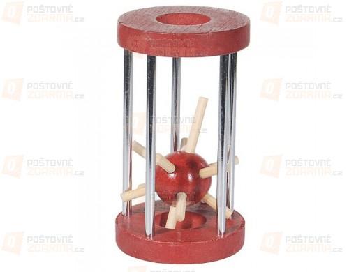 Hlavolam - ježek v kleci