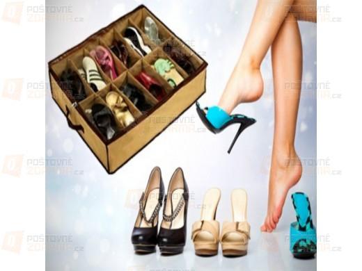 Praktický organizér na 12 párů bot