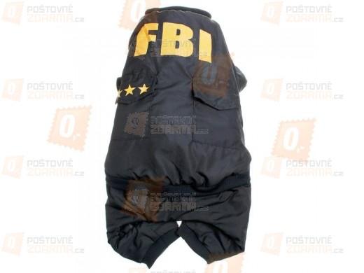 Obleček pro psy - FBI