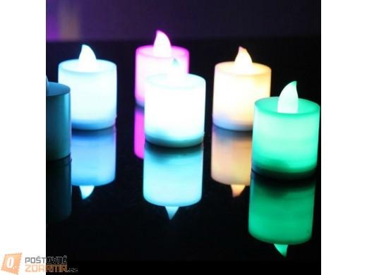Romantická LED svíčka v 5 barvách