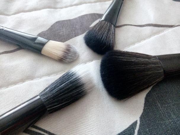 Sada 12 kusů štětců na make-up