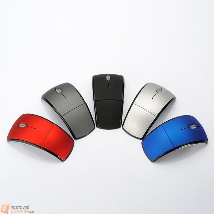 Skládací bezdrátová myš ve 4 barvách