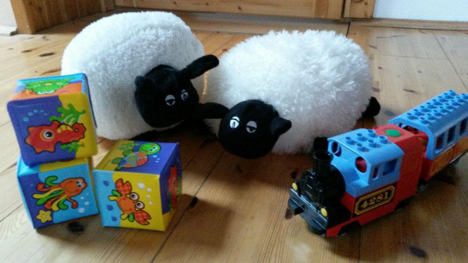 Polštářek v podobě ovečky