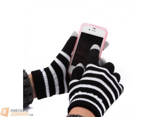 Zimní rukavice pro práci s dotykovou obrazovkou