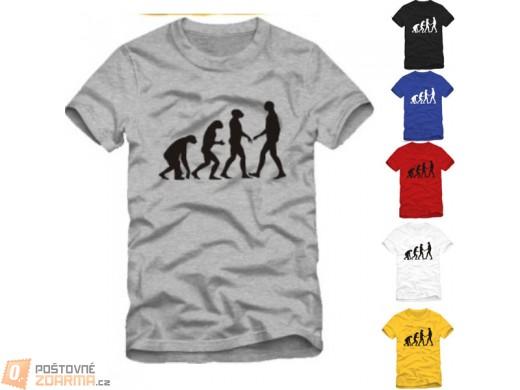 Originální tričko Evoluce