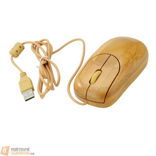 Dřevěná myš