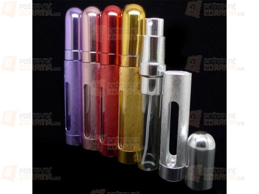 Flakónek na parfém 12 ml - na výběr z pěti barev