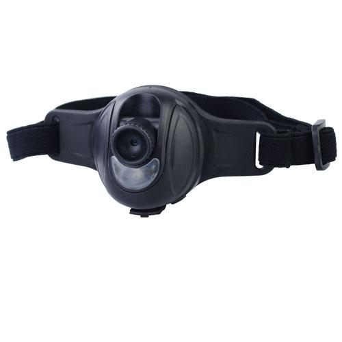 Outdoorová mini kamera čelovka 8 Gb 720p