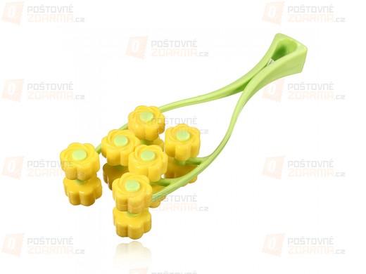 Masážní pomůcka ve tvaru květiny