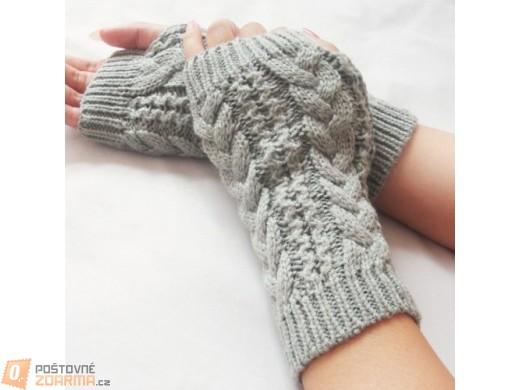 Pletené návleky na ruce - ve 3 barvách